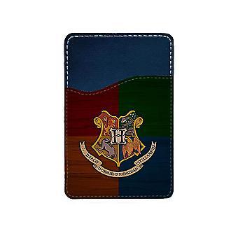 Harry Potter Hogwarts Mobile Phone Adhesive Card Holder