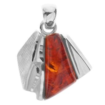 InCollections 0010203564100 - Women's pendant with amber, sterling silver 925