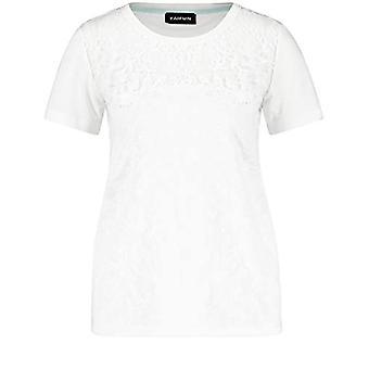 Taifun 571073 T-Shirt, Dirty White, M Woman