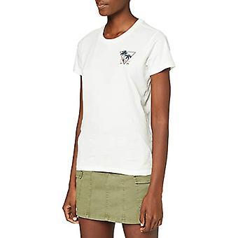 Lee Triangle Tee T-Shirt, Dirty White, XS Woman
