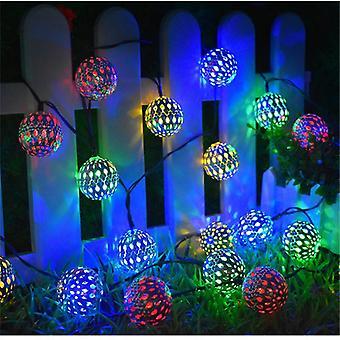 Joulujuhlan koristelu Solar String Light