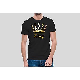 King Last Name Shirt