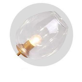 E27 ضوء قلادة الزجاج الحديث مع 10 رئيس