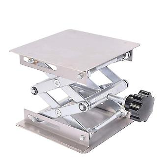 Stainless Steel Lifting Table Manual Aluminum  Laboratory Device Lab Lifting Stand Rack Tool Parts