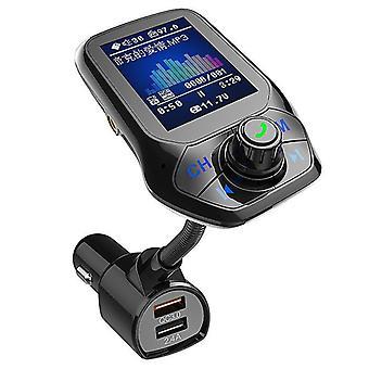 بلوتوث FM محول سيارة الإرسال mp3 لاعب دعم بطاقة TF مع qc3.0 شاحن سريع cai1390