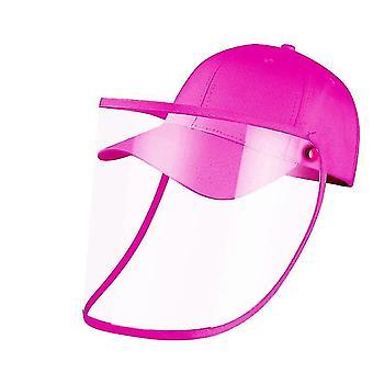 28Cm * 25 سم * 1 سم ارتفع كامل الوجه قبعة البيسبول مع غطاء الوجه القابلة للإزالة x3742