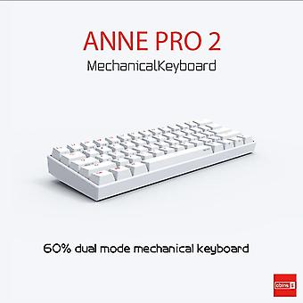 Přenosná mechanická klávesnice DZK Qwert (třešňově modrá)