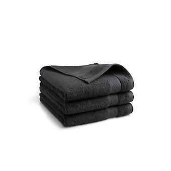 Seashell Hotel Collectie Handdoek - Antraciet - 3 stuks - 50x100cm
