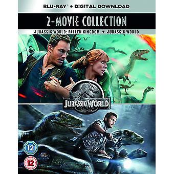 Jurassic World 2-Movie Collection Blu-ray