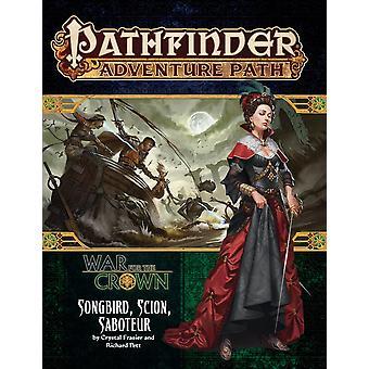 Pathfinder Adventure Path: Songbird, Scion, Saboteur (War for the Crown 2 van 6)