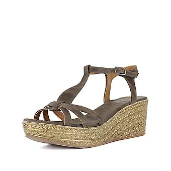 LFL by Lust for Life Womens Axis Fabric Open Toe Casual T-Strap Sandals