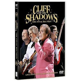 Cliff Richard and the Shadows The Final Reunion DVD (2009) Cliff Richard cert Region 2