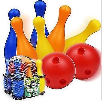 Copoz Kinderkegel Plastikspielzeug Kindergarten Freizeit Sport Unterhaltung 19/22CM Bowling