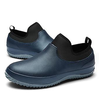 Plain Pattern Air Cushion Woven Shoes Unisex
