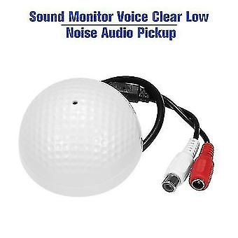Geluidsmonitor stem duidelijk low noise audio pick-up microfoon voor CCTV videobewaking beveiliging