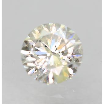 Certificeret 0,31 Karat E Color SI2 Runde Brilliant Natural Loose Diamond 4.3mm 3EX