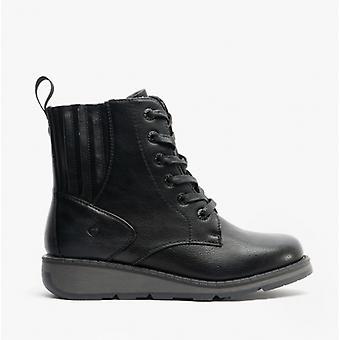 Heavenly Feet Journey Ladies Ankle Boots Black