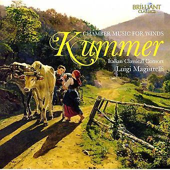Caspar Kummer - Caspar Kummer: Chamber Music for Winds [CD] USA import
