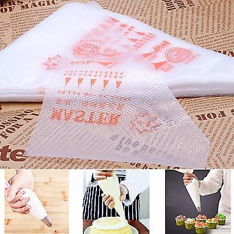 200pcs Glassing Piping Decorator Bags Plastica Monouso Pastry Piping