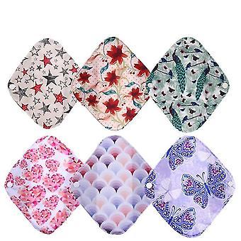 Reusable Bamboo Charcoal Cloth Panty Liner Feminine Hygiene Menstrual