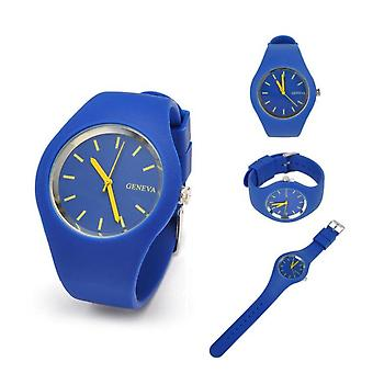 Ladies Ultra-thin Silicone Watch