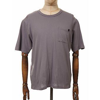 Edwin Jeans Oversized Pocket Tee - Frost Grey
