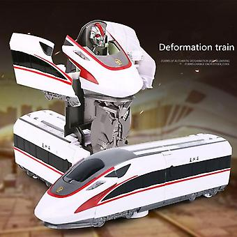 Classic Model Train Robot Deformation Toy Movable Doll Children Gift
