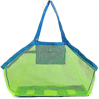 Garbage bags mesh beach toy bag sand toy children's beach net bag portable quick storage bag for collecting beach