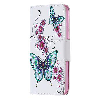 Couverture protectrice pour iphone 12/12 Pro Pattern Flora Butterfly