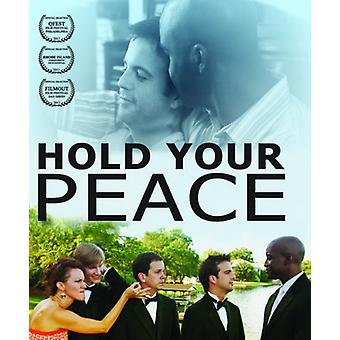 Halten Sie deines Friedens [Blu-Ray] USA import