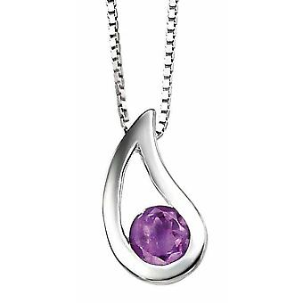 925 Silver Necklace Amethyst for Necklace