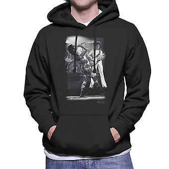 Queen On Stage In London 1976 Men's Hooded Sweatshirt