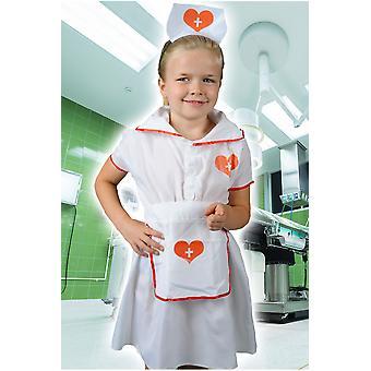 Kinder Kostüme Mädchen Mädchen Krankenschwester