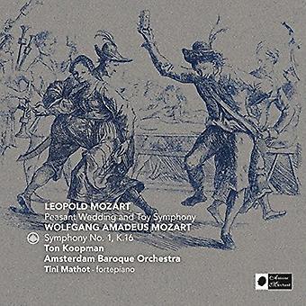 Mozart / Koopman, Ton / Amsterdam Baroque Orchestra - Mozart: Bauer Hochzeit & Toy Symphony [CD] USA Import