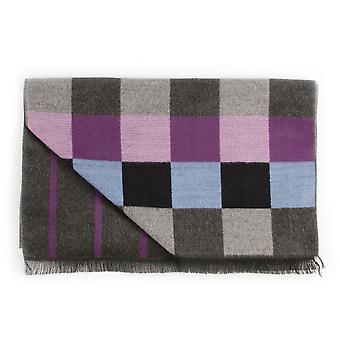 特朗蒂双面男士编织围巾