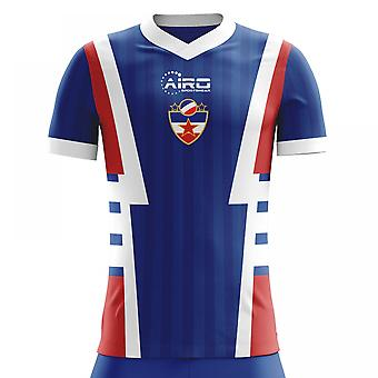 2020-2021 Yugoslavia Home Concept Football Shirt