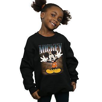 Filles de Disney Mickey Mouse langue Montage Sweatshirt