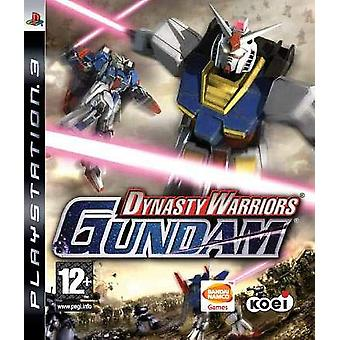Dynasty Warriors Gundam (PS3)-fabriken förseglad