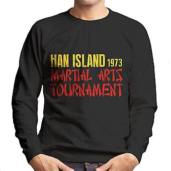 Voer de Dragon Ham eiland Martial Arts toernooi mannen Sweatshirt