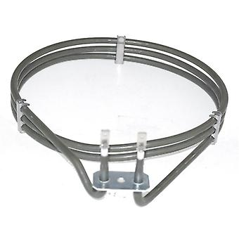 AEG erstatning Fan ovnen komfyr varmeelement (2000w) (3 slår)