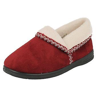 Ladies Sandpiper Warmlined House Slippers Ila