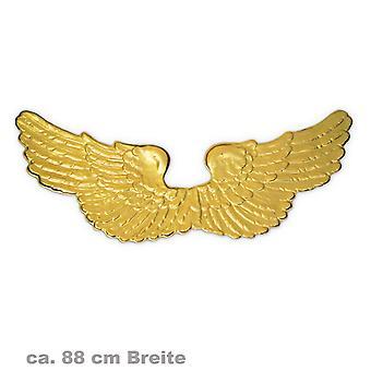 כנפיים מלאכים זהב 88 ס מ אביזר הרמס שליח האלים