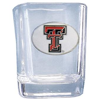 Texas Tech Red Raiders NCAA Square Schnapsglas