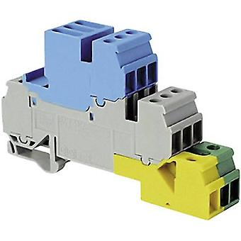 ABB 1SNA 110 264 R0200 Industrieller Klemmenblock 17,8 mm Schrauben Konfiguration: Terre, N, L Grau, Blau, Grün, Gelb 1 Stk.