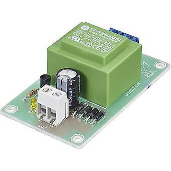 Conrad Components PSU card Component Input voltage (range): 230 V AC (max.) Output voltage (range): 12 V DC (max.)