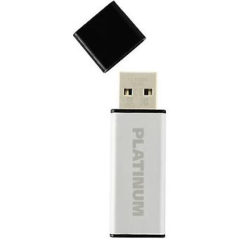 Platinum ALU USB stick 16 GB Silver 177557 USB 2.0
