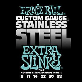 Ernie Ball Steel Slinky Electric Strings - Extra Slinky