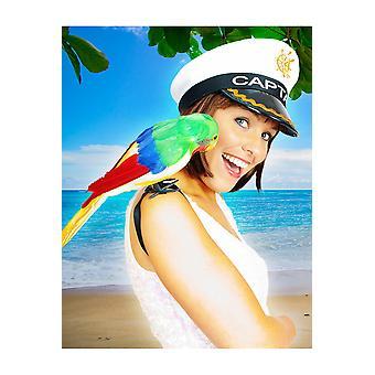 Party favors  Pirate parrot decoration