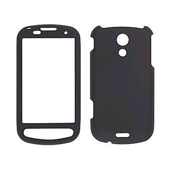 5 pack-Sprint twee stuk soft touch snap-on case voor Samsung Epic 4G SPH-D700-zwart