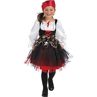 Piratin Kinder Kostüm Seeräuber Mädchen Karneval